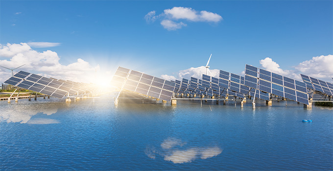 Planta Fotovoltaica Flotante